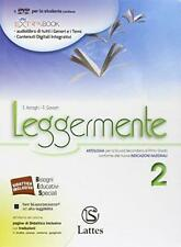 Leggermente volume 2 +DVD, Lattes scuola, Asnaghi, cod:9788880428688
