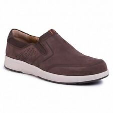 Clarks Mens Unstructured Un Trail Step Brown Nubuck Casual Shoes UK 9/43 G