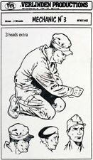 Verlinden 54mm (1/35) Mechanic No.3 (3 Head options US / British / German) 144