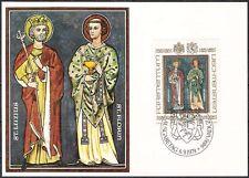 Liechtenstein 734 20 Franken Fr SFR Maximumkarte MC MK 10 Landespatrone 1979