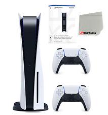 Sony Playstation 5 versión disco con controlador extra y estación de carga