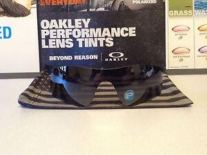 Oakley Radarlock Path Black Iridium Polarized lens New w/ Bag SKU 43-533 READ