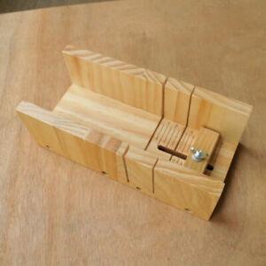 Wooden Loaf Soap Mould Adjustable Mold Soap Making Tools Slicer Cutter Mold AU