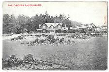 The Gardens, Sandringham Unposted PPC circa 1905. Good View of Greenhouses