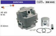 CILINDRO E PISTONE DECESPUGLIATORE MARUYAMA AE420 M45 Ø 40 mm