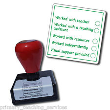 ST75 Teacher's Remarks APP Assessment Pre-inked School Marking Stamper
