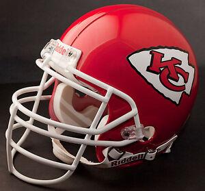 TONY GONZALEZ Edition KANSAS CITY CHIEFS Riddell REPLICA Football Helmet
