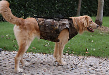 Hunting Neoprene Dog Safety Vest XXL Dog Parka Camoflauge Keep Dog Warm