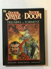 Marvel Graphic Novel  Doctor Strange and Doctor Doom - Triumph and Torment