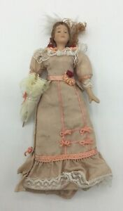 Dolls House Lady With Parasol - 15.5 cm