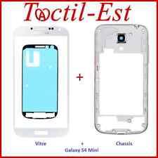 Pour Samsung Galaxy S4 Mini i9190 i9195 Chassis Bezel + Vitre de Remplacement