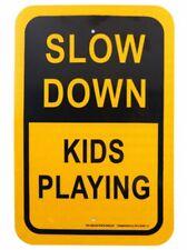 Rk Safety Sign Al1812 Egp 13 Legend Slow Down Kids Playing Engineer Grade Re