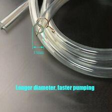 Manual Hand Siphon Syphon Fuel Transfer Hose Pump Pipe Fluid Liquid Oil Water ke