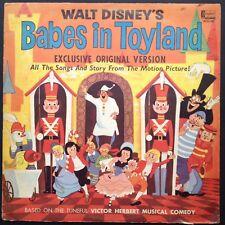 Walt Disney BABES IN TOYLAND Story+Songs Soundtrack LP 1961 George Bruns Ed Wynn