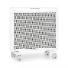Calorifero Elettrico Termosifone Termoconvettore Stufa Convettore 1000W Bianco
