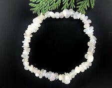 1 x Moonstone Crystal Chip Bracelet - Reiki Charged