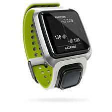 TomTom Golfer GPS BT Waterproof Golf Watch Range Distance Finder - White (U)