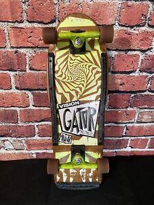 Vision Mark Gator Rogowski OG 1980's Vintage Skateboard Deck Complete Old School