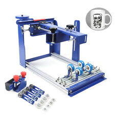 Pro Curved Screen Printer Machine Manual Press Printer For Bottle Cup Rod Pen Us