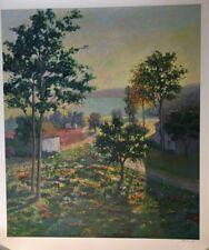 "Christian Title ""Morning Shadows"" Signed Ltd. Ed. Serigraph w/COA"