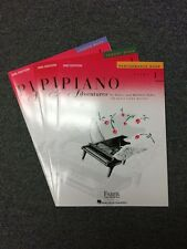 Faber Piano Adventures Book 1 Bundle: Lesson, Theory, & Performance 2nd Ed. New
