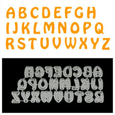 26x Capital Letters Métal De Coupe Matrices Pour DIY Scrapbooking Album Papier I