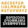26Pcs Capital Letters Metal Cutting Dies For DIY Scrapbooking Album Paper CarLA