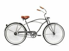 "Micargi Cougar GTS, Chrome - Men's 26"" Beach Cruiser Bike limited edition NEW"
