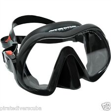 Atomic Aquatics Venom Frameless Dive Mask - BLACK