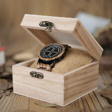 BOBO BIRD WOODEN WATCH MENS OFFICIAL DIGITAL DESIGNER SMART LED UNIQUE UK BRAND