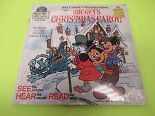 "SEALED WALT DISNEY PRESENTS MICKEYS CHRISTMAS CAROL 45 7"" DISNEYLAND"