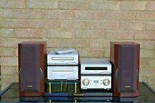 Technics SC-HD550 Micro Mini HiFi System SB-HD550 Speakers Used Vintage Stand
