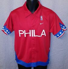 Philadelphia 76ers Nike Rewind 1966 Throwback Warmup Jacket EUC - Boys Medium