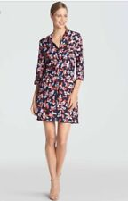 NWT Draper James Sea Pines Tunic Navy Floral Swim Cover Up Size XS $195