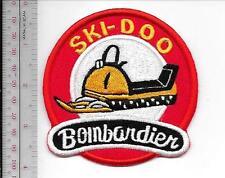 Snowmobile Ski-Doo Bombardier 1964 65 Promo Valcourt, QC Patch Medium Gold Patch