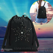Personalised Drawstring Bag School backpack Storage Sports Shoe Dance Bag Sack
