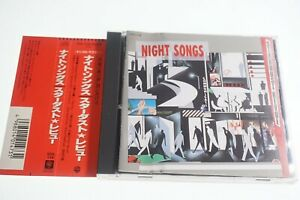 NIGHT SONGS STARDUST REVUE  32XL-218 JAPAN CD OBI A14565