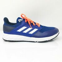 Adidas Mens FortaFaito EG2086 Blue White Running Shoes Lace Up Low Top Size 5