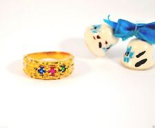 VINTAGE LADIES BIRTH STONE MOTHER RING MAY SEPTEMBER JANUARY – Fashion Jewelry
