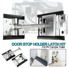 Metal RV Camper Horse Work Enclosed Trailer Door 90mm pole Holder Latch