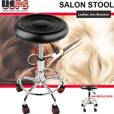 Adjustable Barber Tattoo Salon Stool Hydraulic Rolling Chair Massage Spa Tool US