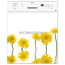 Magnete lavastoviglie decocrazione fiori gialli 60x60cm ref 057 057