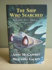 The Ship who Searched by Anne McCaffrey HB 1/1 Very Good condition 1994