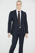 NEU HUGO BOSS Anzug Huge4/Genius3, Gr. 98, UVP: 499,00 € Slim Fit  Super 120