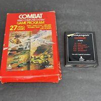Vintage 1978 Atari 2600 Combat CX2601 Game Untested
