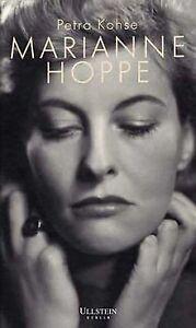 Marianne Hoppe. Eine Biografie von Kohse, Petra   Buch   Zustand sehr gut