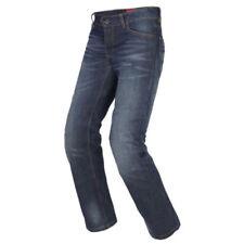 Pantalon bleu coton pour motocyclette