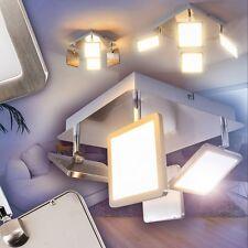 Deckenlampe LED Quadrat mit Dimmer Wohn Zimmer Lampe Küche Strahler Flur Leuchte