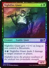 Nightfire Giant FOIL Magic 2015 / M15 NM Black Uncommon MAGIC CARD ABUGames