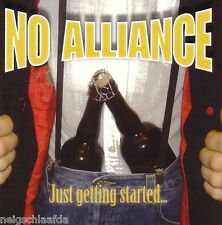 No Alliance – Just Getting started CD Oi! 4 skins punk